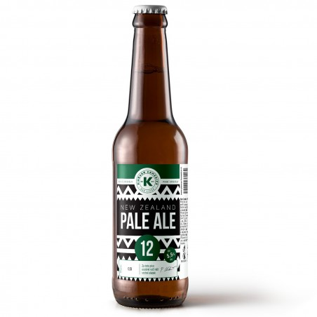 New Zeland 12°- plné pivo sklo