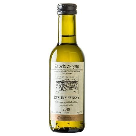 Ryzlink rýnský 18 Suché - kapesní víno