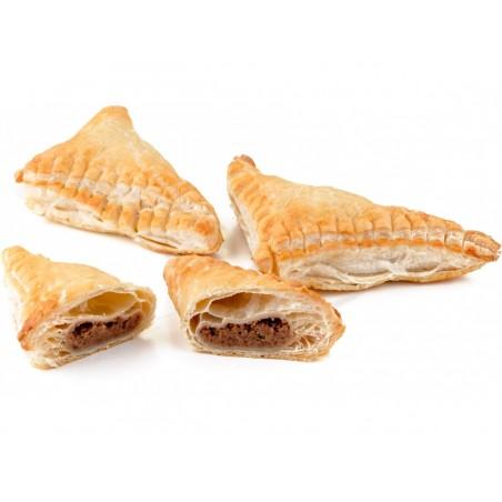 Listový trojhránek s ořechovou náplní