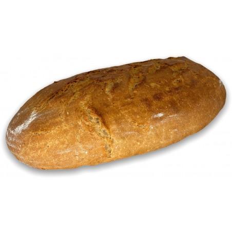Kváskový chléb ze Zahrádek ve tvaru veky