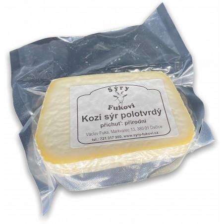 Kozí sýr polotvrdý